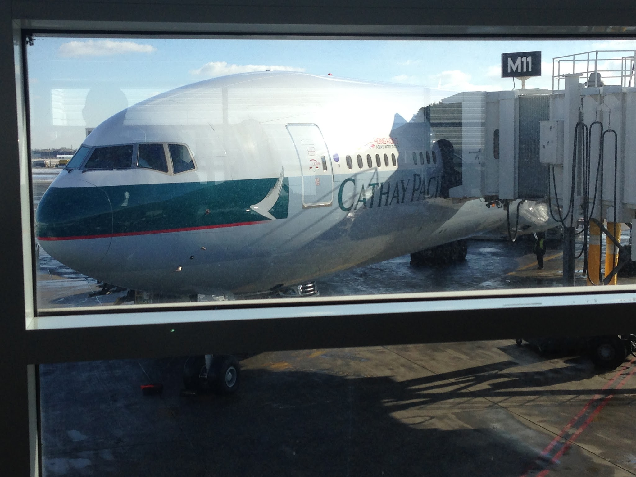 Flight Review Cx807 Cathay Pacific 777 300er 77h Business