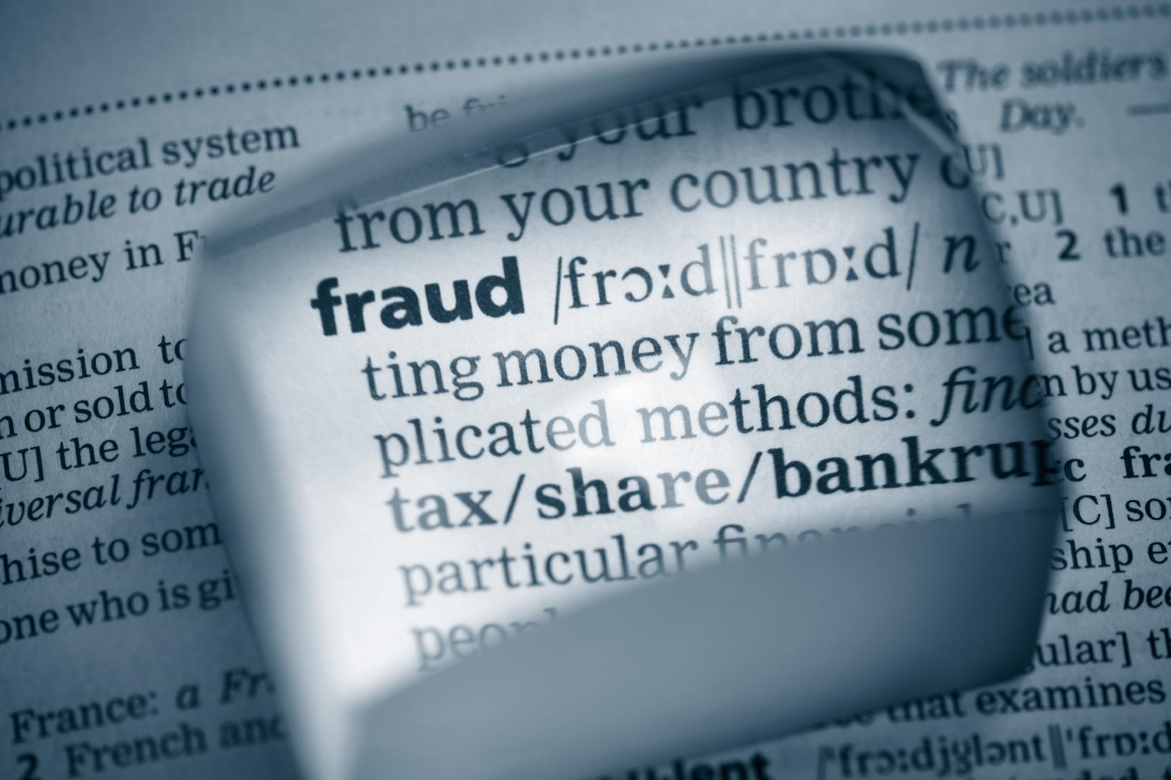 Fraud Definition IStock 4 11 13