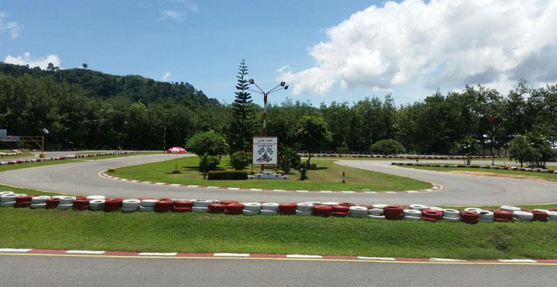 Karting Across Thailand Part 2 Phuket Phuket Kart Speedway