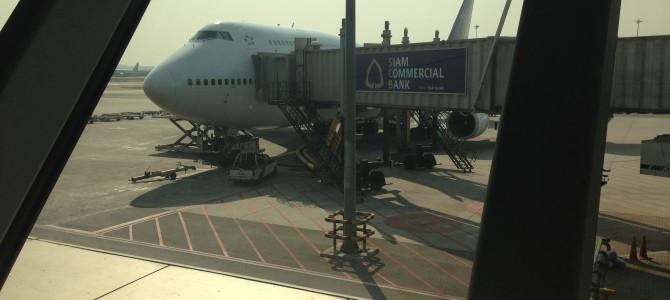 Flight Review: TG606 Thai Airways 747 Business Class Bangkok to Hong Kong