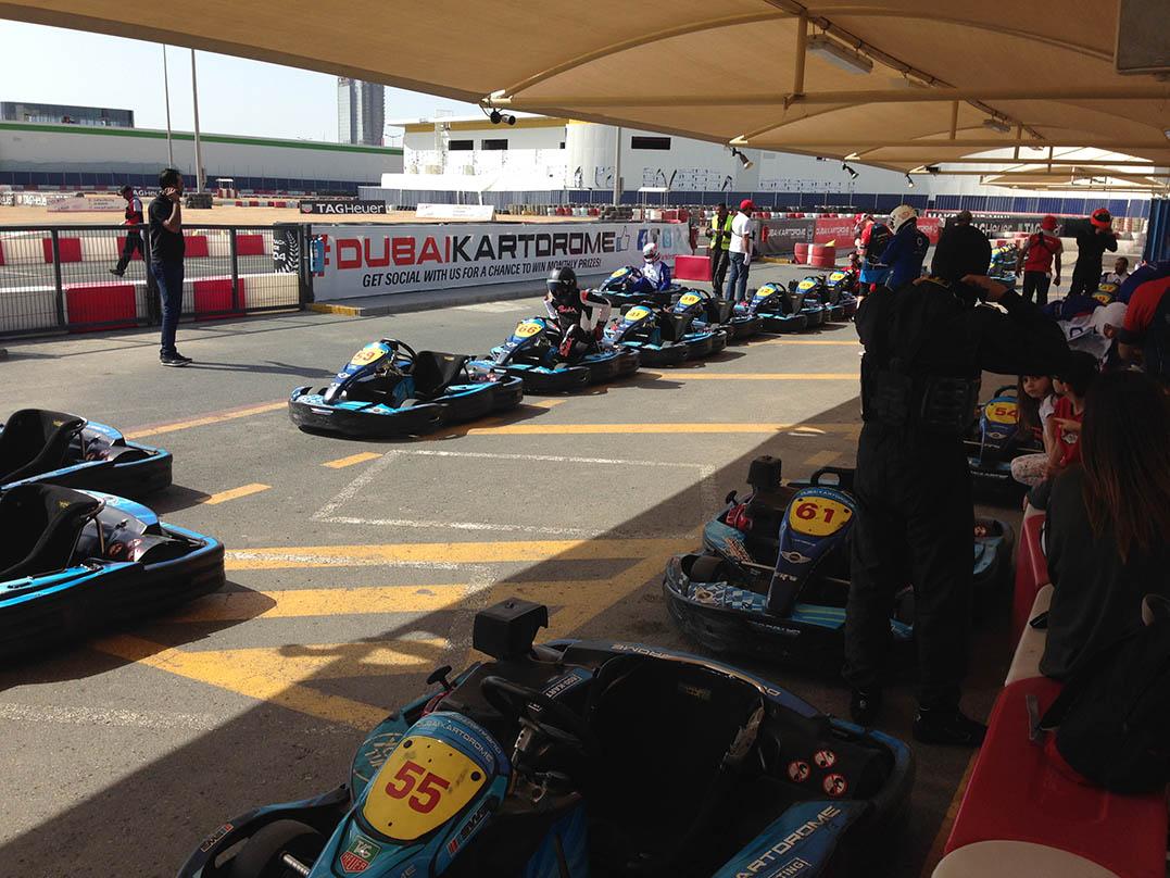 Dubai Kartdrome: Outdoor Track Karting In Dubai -