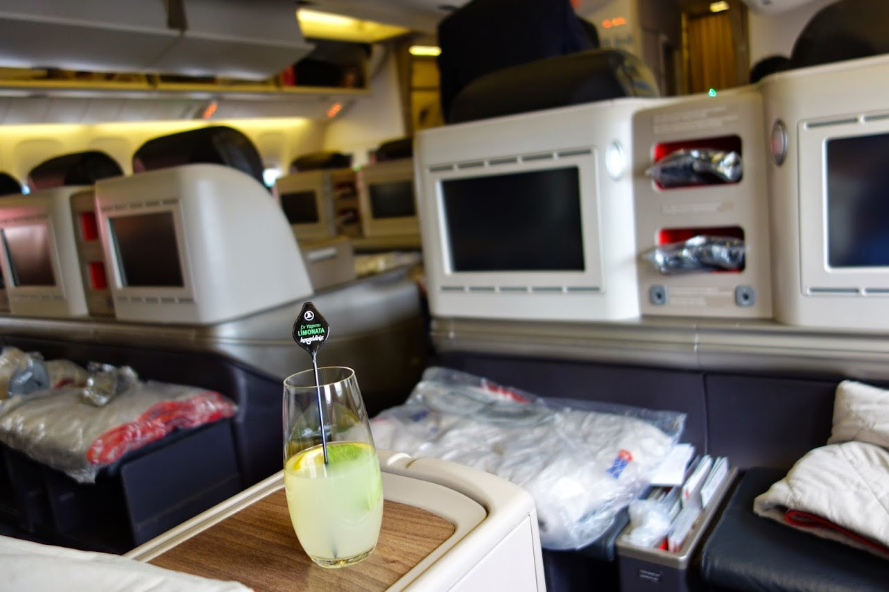 Flight review tk17 turkish airlines b777 300er business class istanbul to toronto - Turkish airlines uk office ...