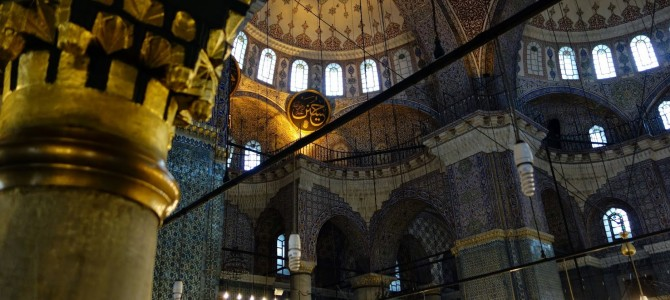 Mosques and Churches I Visited in Istanbul