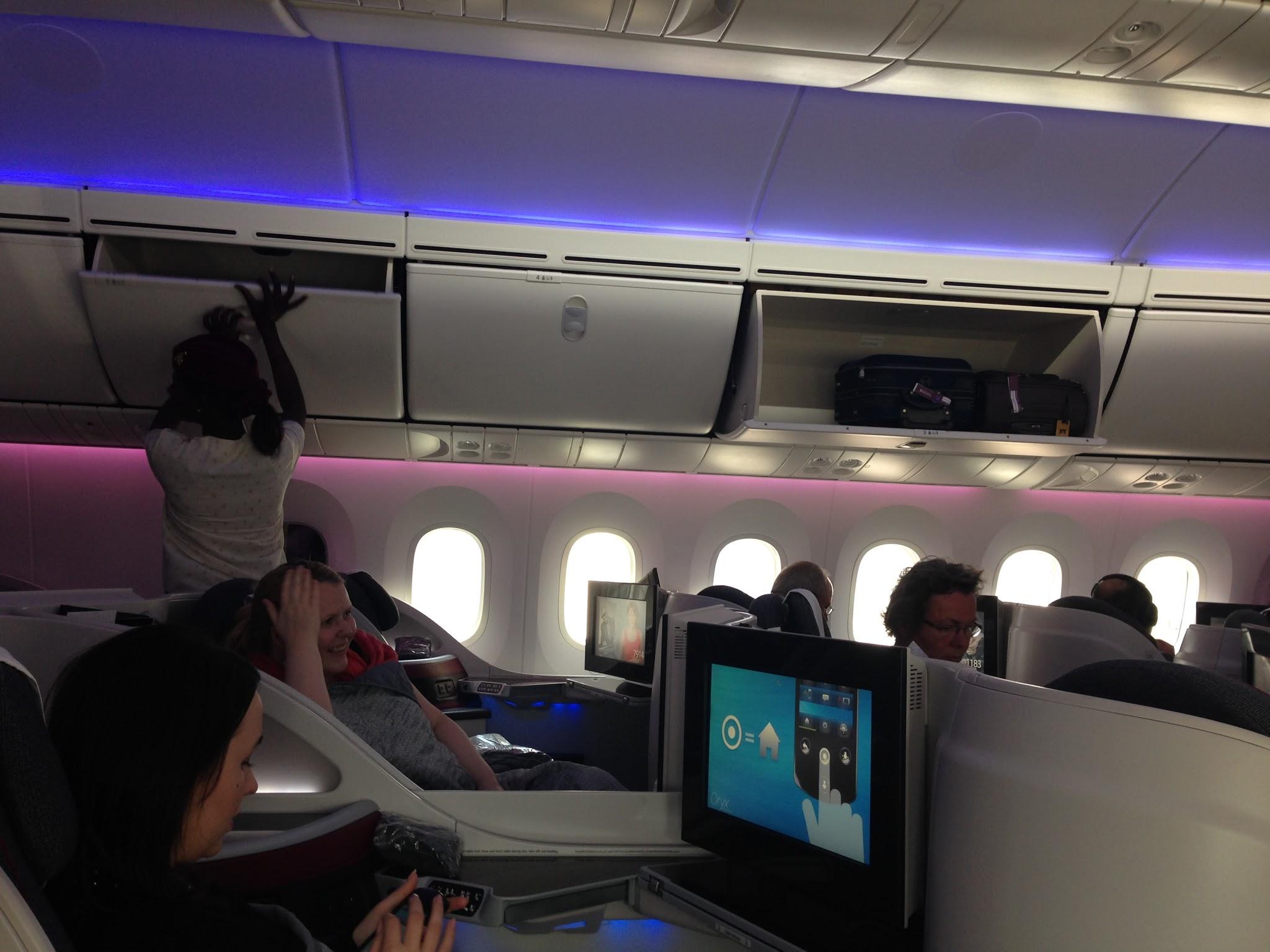 Flight Review Qr1360 Qatar 787 8 788 Business Class
