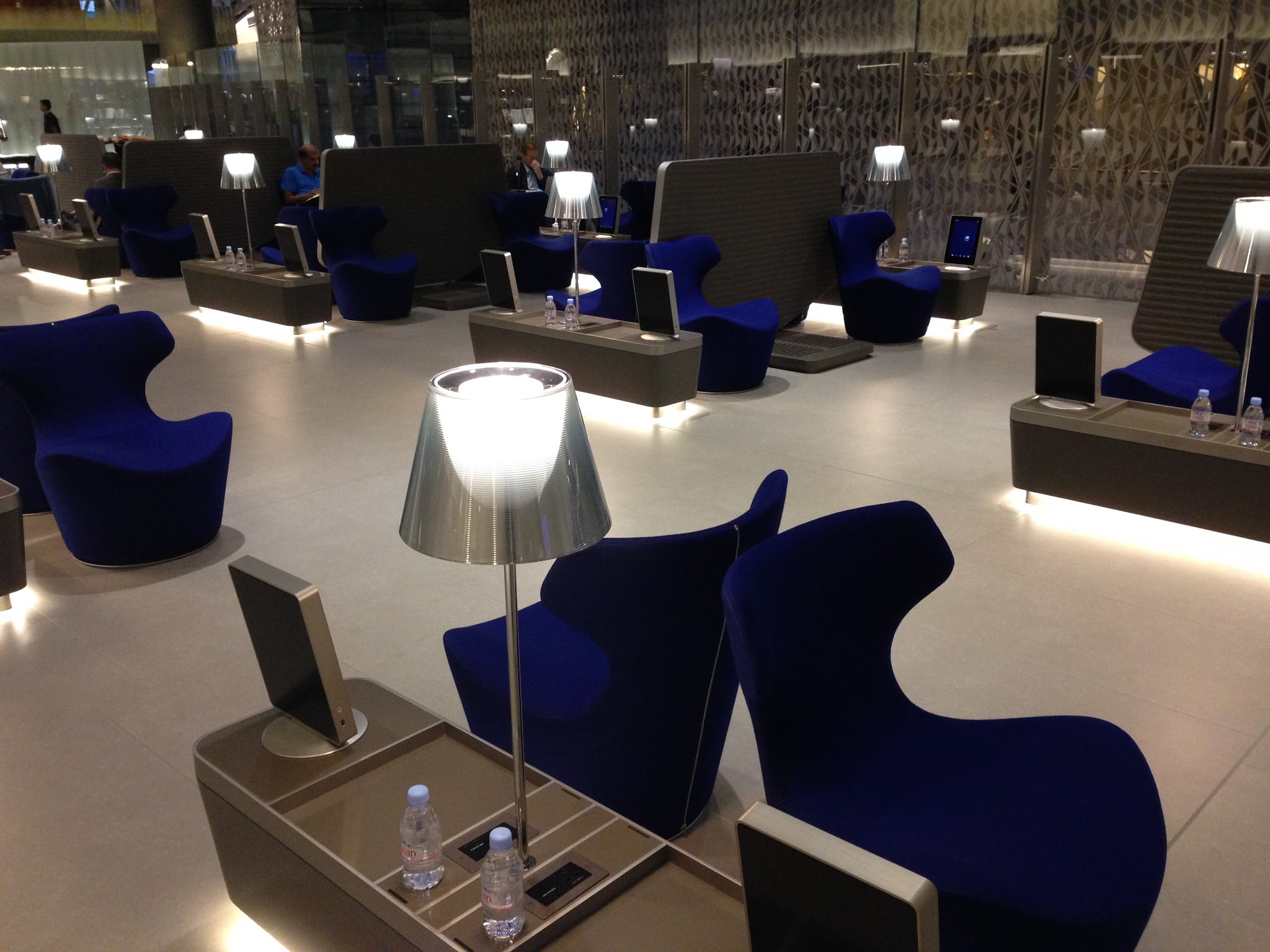 Qatar Airways Al Mourjan Business Lounge Review