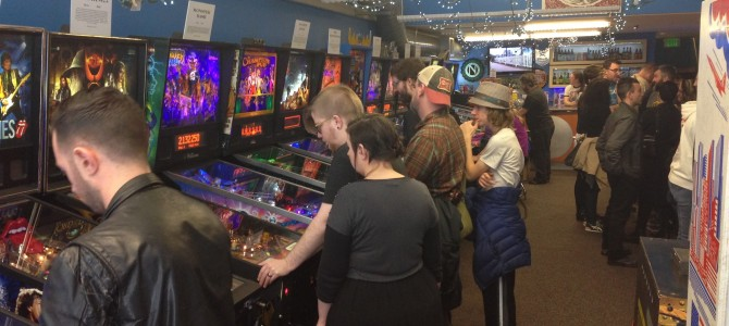 Visiting the Seattle Pinball Museum