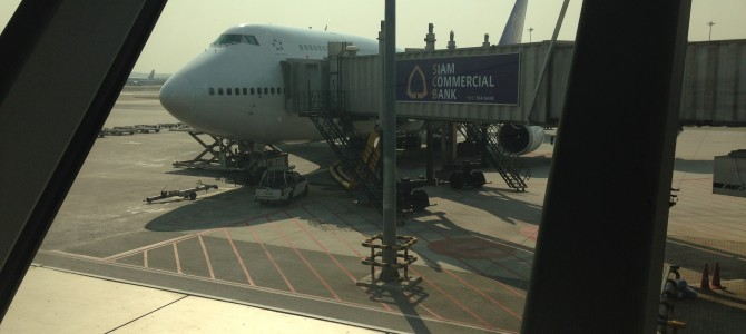Flight Review: TG606 Thai Airways 747 Business Class Bangkok to Hong Kong