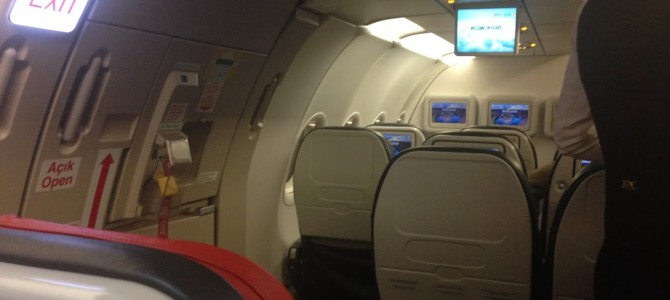 Flight Review: Turkish Airlines TK868 Economy Class A321 Istanbul to Abu Dhabi