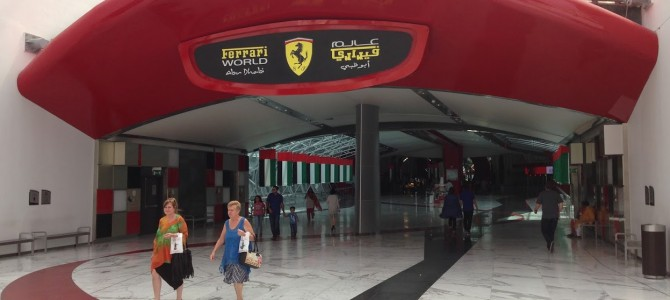 Revisiting the Drift Karts at Ferrari World