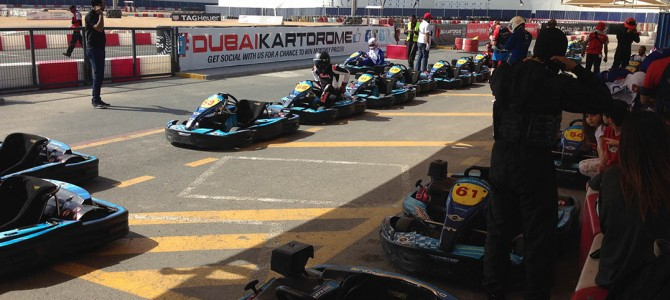 Dubai Kartdrome: Outdoor Track Karting In Dubai
