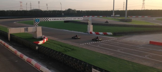 Karting Abu Dhabi at Al Forsan International Sports Resort Raceway