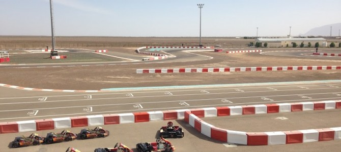 Karting at Al Ain Raceway – International Kart Circuit