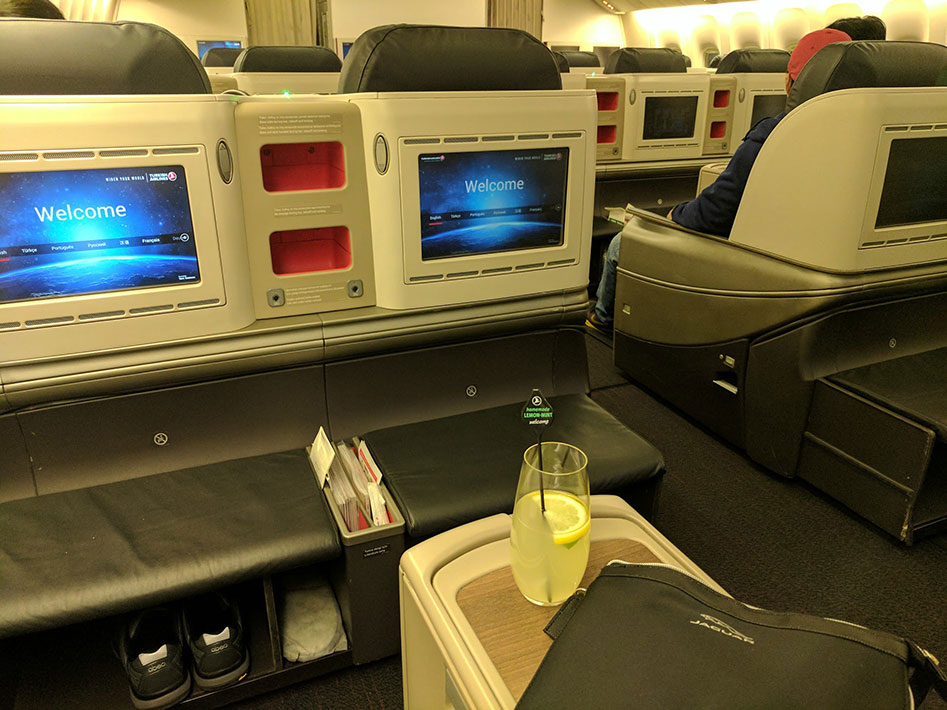 Turkish airlines tk84 business class flight review istanbul to manila - Turkish airlines uk office ...