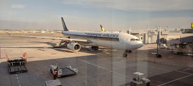Singapore Airlines SQ948 A333 Business Class Flight Review: Singapore to Denpasar SIN to DPS
