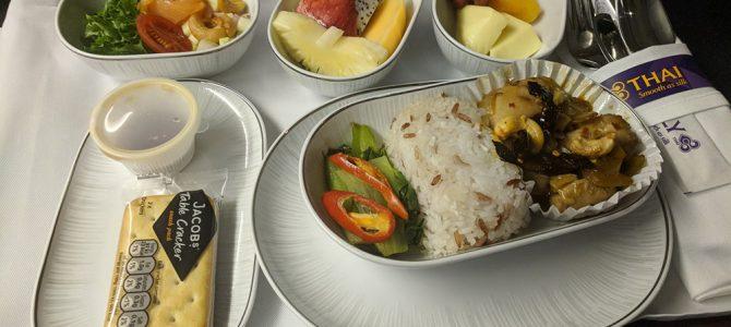 Thai Airways TG625 773 Business Class Flight Review: Manila to Bangkok MNL to BKK